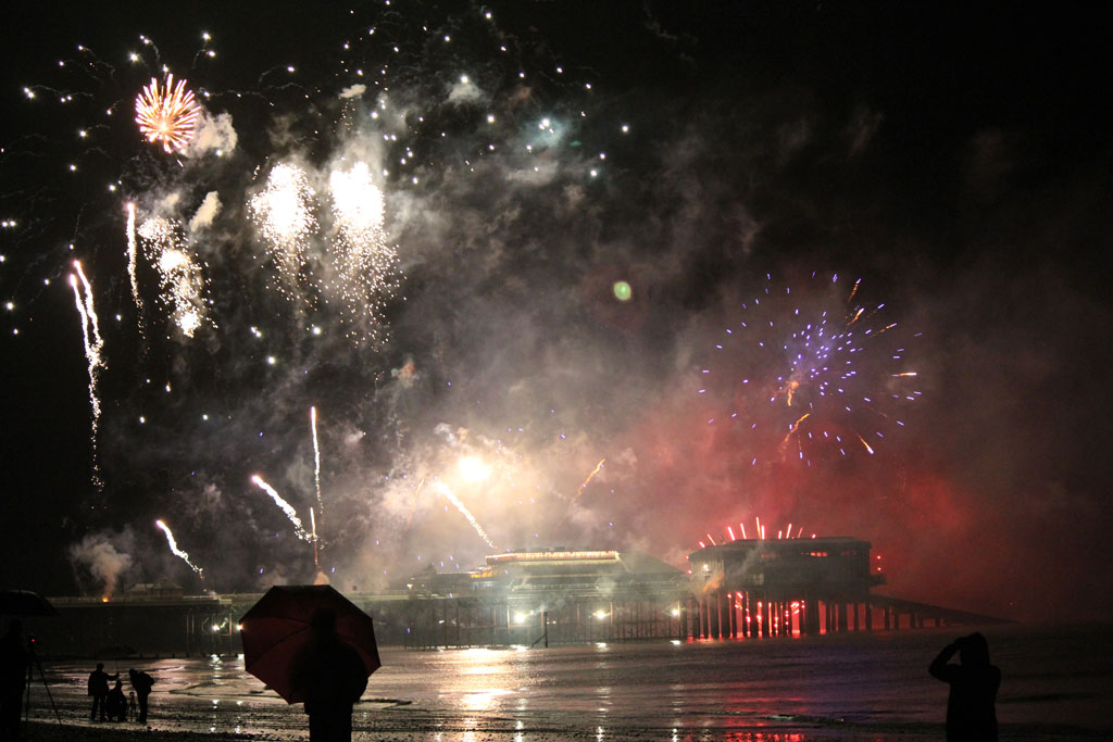 New Years Day Fireworks