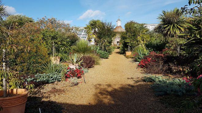 The walled garden, Felbrigg
