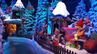 Thursford santas magical journey
